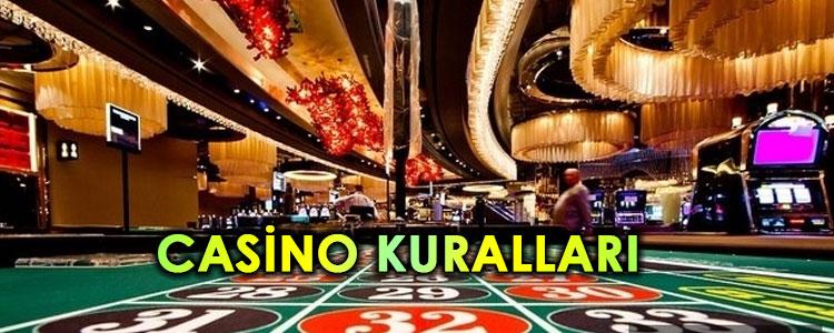 casino kuralları